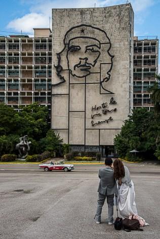 """Plaza de la Revolution. Nikon D810, 50 mm (24-120.0 ƒ/4) 1/200"""" ƒ/10 ISO 400."""