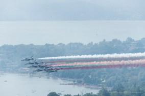 Air show. Manerba, Lake Garda 2016. Nikon D750, 400 mm (80-400.0 mm ƒ/4.5-5.6) 1/1600 ƒ/14 ISO 1000