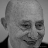 """Arnaldo Pomodoro, sculptor. Milano, November 2016. Nikon D750, 85 mm (85,0 mm ƒ/1.4) 1/160"""" ƒ/1.4 ISO 200"""