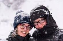 "Elena and Luca, mushers. Avouil, Centro Sleddog Cervinia. Nikon D810 75 mm (24-120.0 mm ƒ/4) 1/250"" ƒ/4.5 ISO 64"
