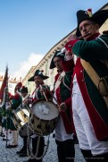 """The Fife and Drum Corps of the First Batalion Hunters. Nikon D810, 31 mm (24-120 mm ƒ/4) 1/200"""" ƒ/7.1 ISO 400"""