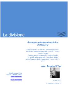 La divisione