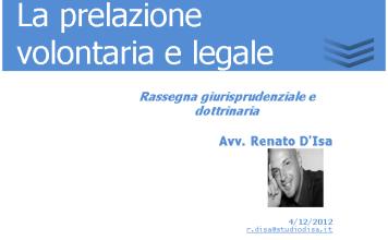 la prelazione volontaria e legale 1