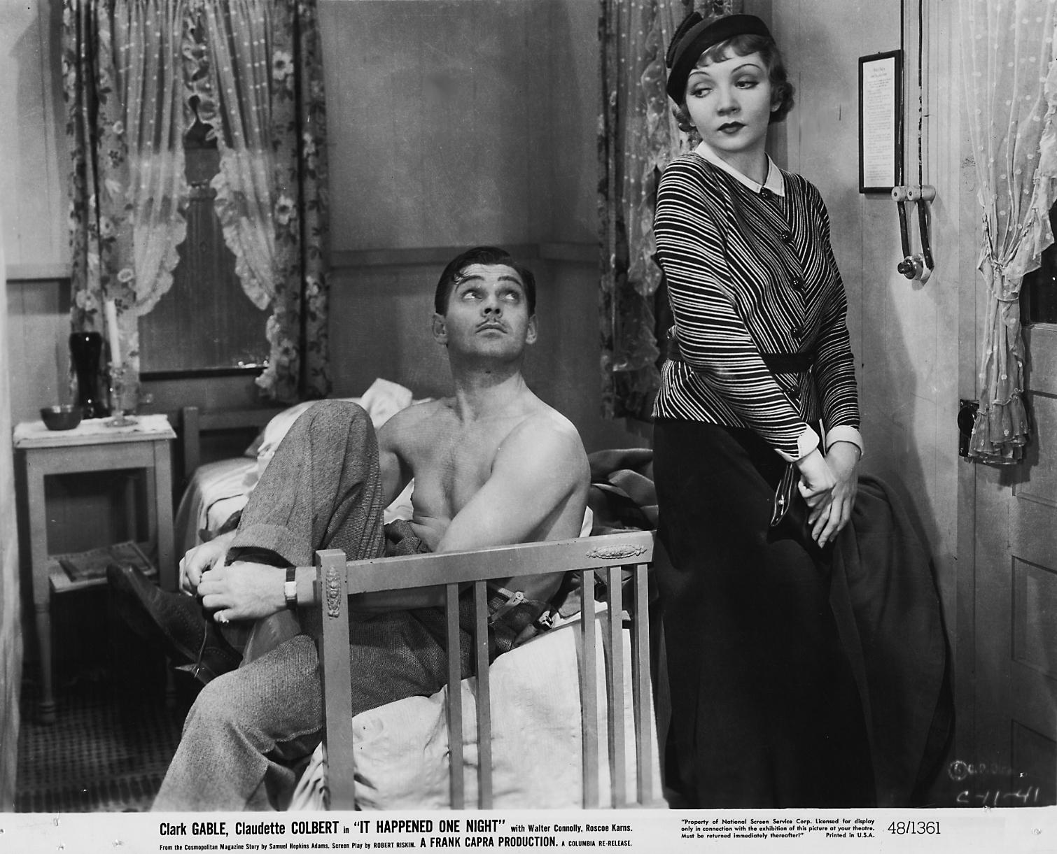 """18 - """"Aconteceu Naquela Noite"""" (1934)"""