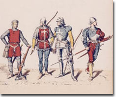 Arbalétriers et archers