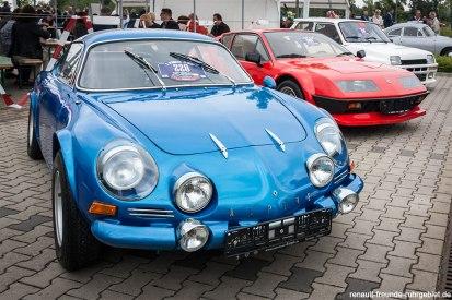 Alpine 110, Alpine 310 und Renault 5 Turbo Schumann Classic