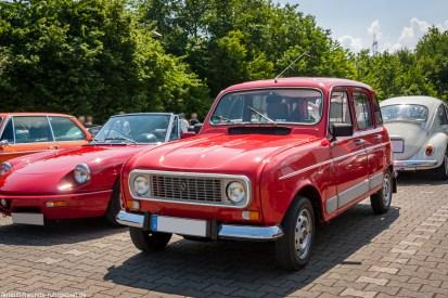 Renault R4 bei der Nordstern Klassik in Gelsenkirchen