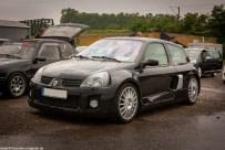 Renault Clio V6 beim 1. Franzosen Day in Oberhausen
