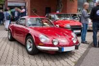Alpine A110 beim 21. Renault Oldie Treffen in der Eifel