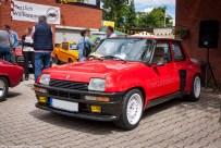 Renault 5 Turbo beim 21. Renault Oldie Treffen in der Eifel
