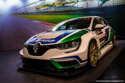 Renault Megane 4 R.S. auf der Essen Motor Show 2017