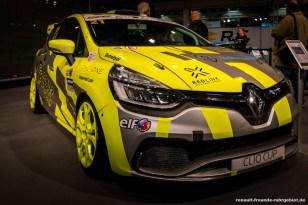 Renault Clio 4 R.S. auf der Essen Motor Show 2017