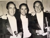 One of my all time favorite photos! Dad, Sal Rabbio, and my mentor Clem Barone.