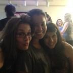 Me with Nicole Esposito and my student Katie Hirabayashi