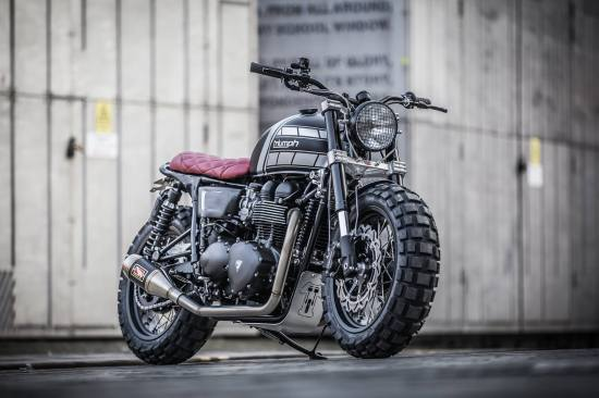 Down & Out Café Racers, Triumph Bonneville | CustomBIKE.cc