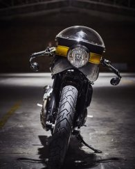 FUEL Bespoke Motorcycles Ducati STRADA Cafe Racer | CustomBike.cc