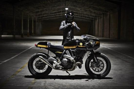 FUEL Bespoke Motorcycles Ducati Scrambler Cafe Racer   CustomBike.cc