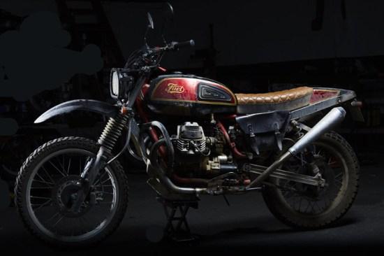 FUEL Bespoke Motorcycles Moto Guzzi Scrambler   CustomBike.cc
