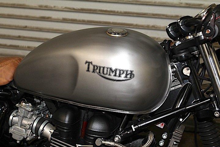 LOSSA 2010 Triumph Bonneville | CustomBike