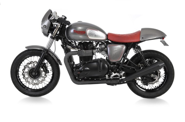 LOSSA 2011 Triumph Thruxton | CustomBike.cc