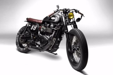 SOUTH GARAGE MOTOR CO. Triumph Thruxton 'GOHA' | CustomBike.cc