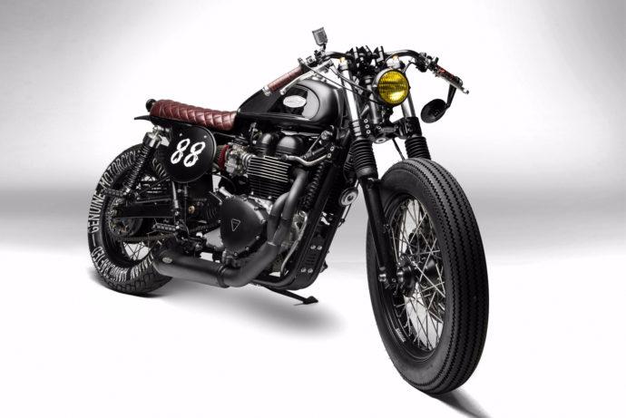 SOUTH GARAGE MOTOR CO. Triumph Thruxton 'GOHA' | CustomBike.cc