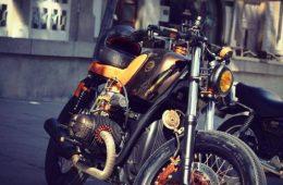 Dream Wheels BMW 'Copper' 3   CustomBike