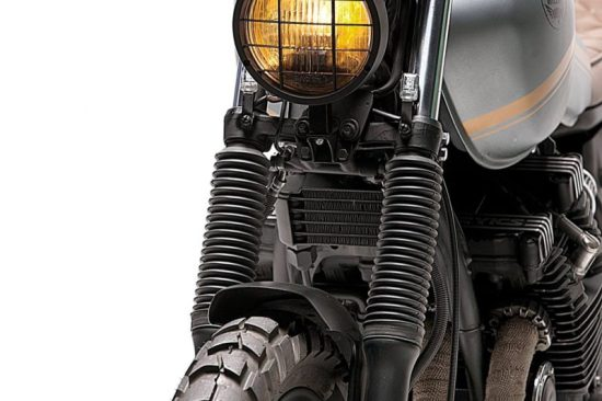 Dream Wheels Yamaha XJ750 Scrambler2 | CustomBike