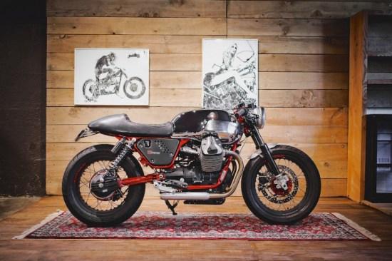 BAAK MOTOCYCLETTES Moto Guzzi V7 Racer Limited | CustomBike.cc