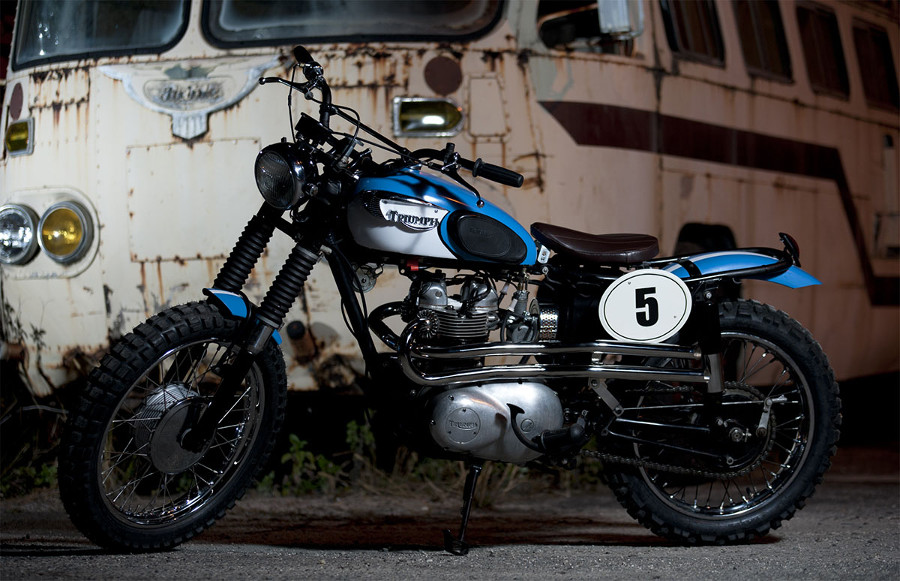 Xcrambler Cycles Triumph Desert Racer 2 | CustomBike.cc