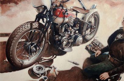 Hans Sures, Lone Rider | CustomBike.cc