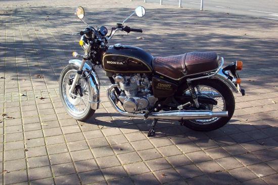 Retro Bikes Croatia 1976 HONDA CB500T Restored