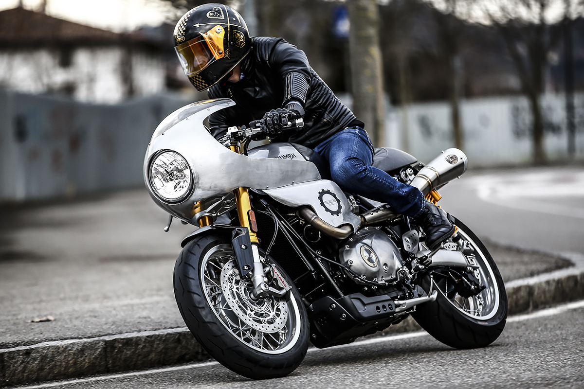 Alo's Cafe Thruxton R Cafe Racer | CustomBIKE.cc