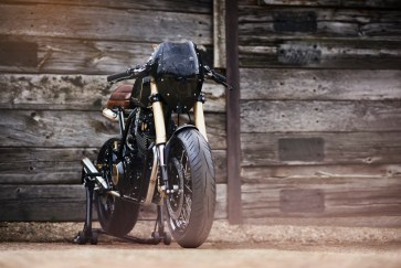 Lions Den Motorcycles Dirt Racer front