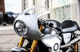 Thruxton R Cafe Racer Alo's Cafe | CustomBIKE.cc