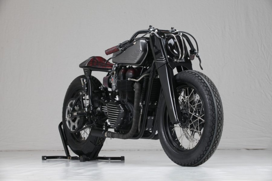 Triumph Bonneville 900 'Forty' | Rustom | CustomBIKE.cc