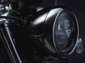 Bonneville Speedmaster 2018 Black LED Headlight