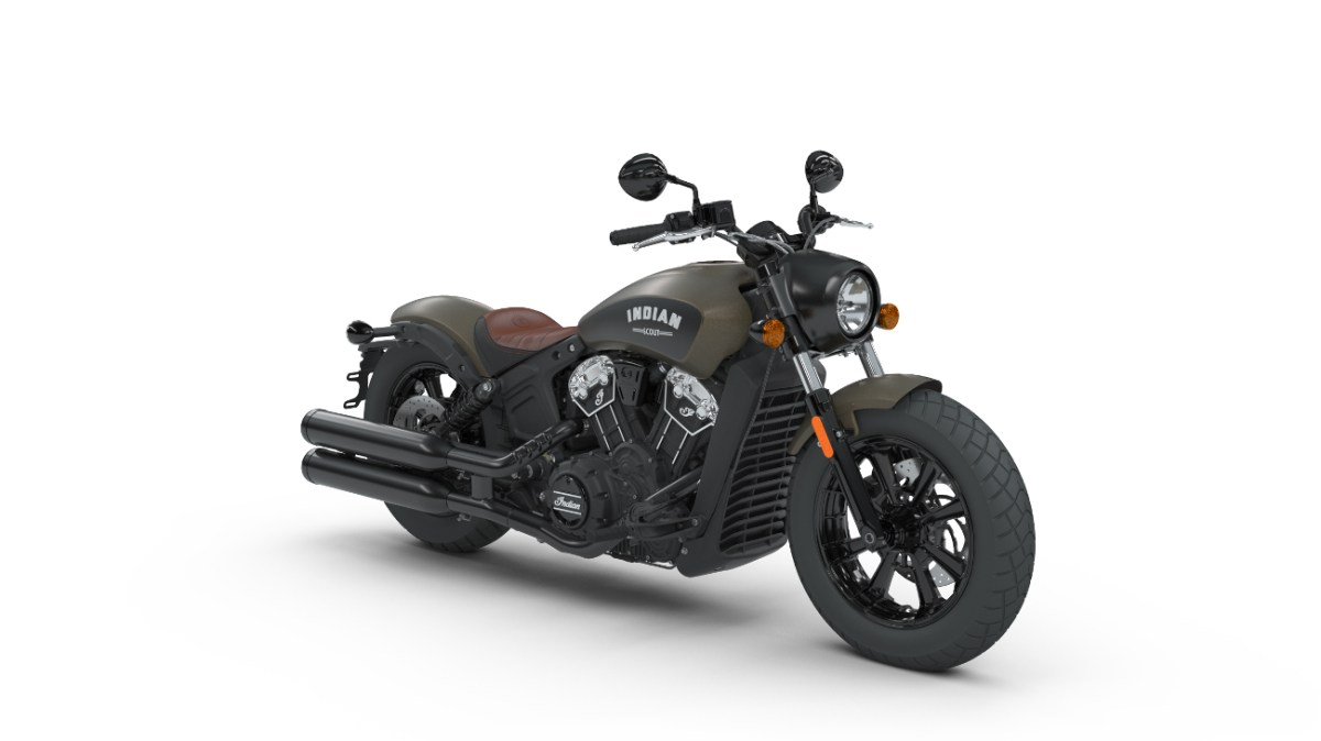 Indian Scout Bobber Indian Motorcycle Bronze Smoke