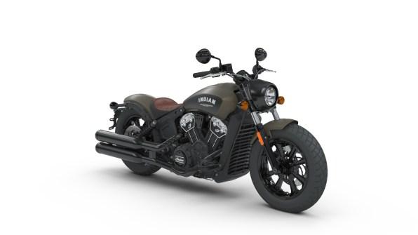 Indian Scout Bobber Indian Motorcycle Bronze Smoke