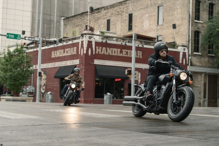 INDIAN SCOUT BOBBER LAUNCHES IN THE UNITED KINGDOM