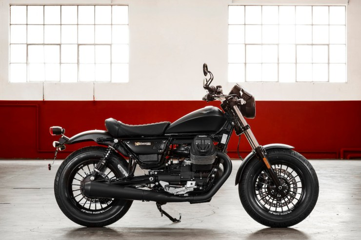 Moto Guzzi V9 Bobber Custom - Right Side