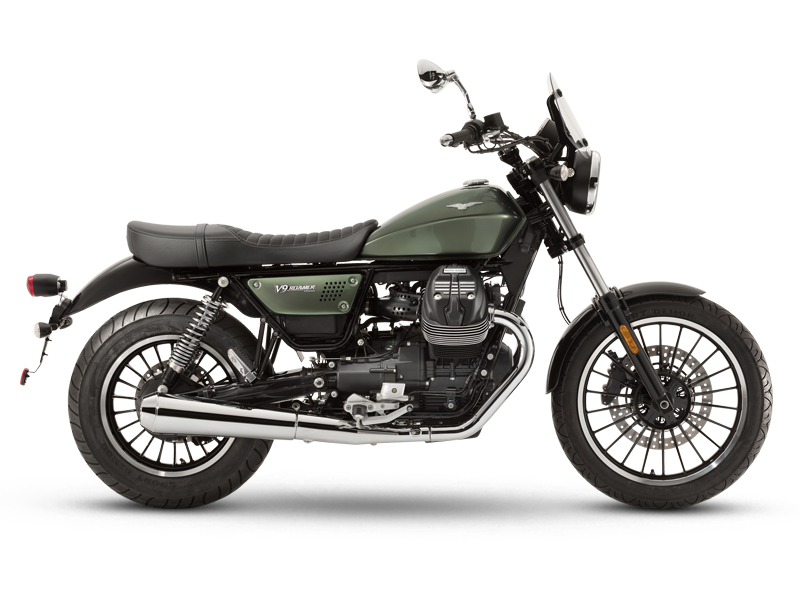 Moto Guzzi V9 Bobber/Roamer 2018