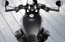 Tank & Instruments - Moto Guzzi V9 Bobber Custom