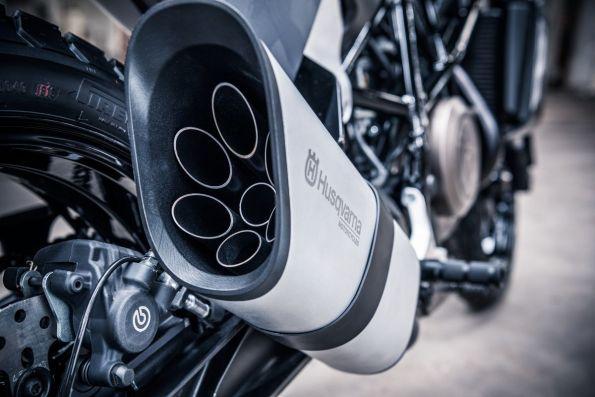 Svartpilen 701 Concept Exhaust Detail