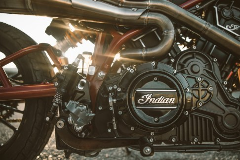 Indian Scout FTR1200 V-Twin 1103cc