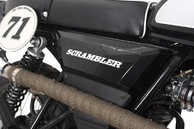 Retro 125cc - Sinnis Scrambler 125cc
