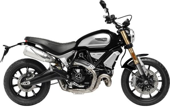 Ducati Scrambler 1100 BLACK Right Side