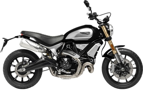 Ducati Scrambler 1100 BLACK Right Side