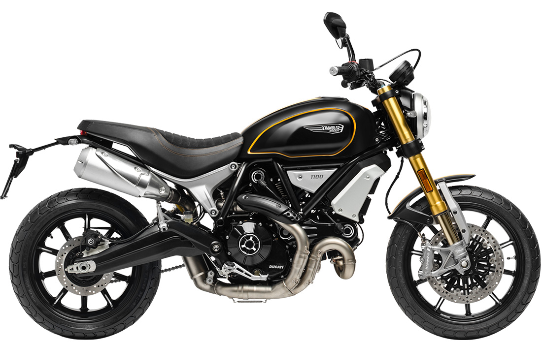Ducati Scrambler 1100 Sport Right Side