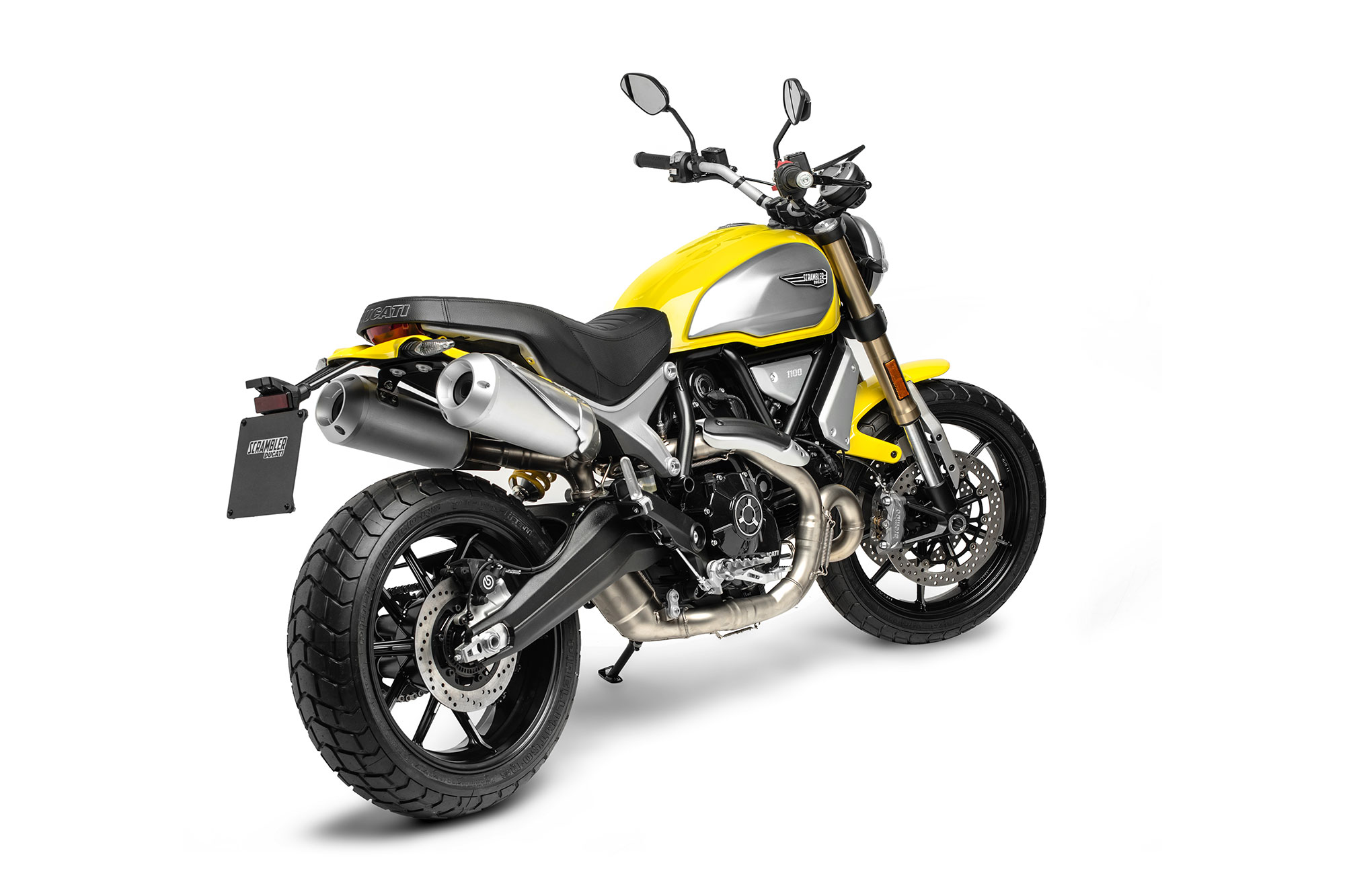 Yellow Scrambler 1100 Rear Right Side